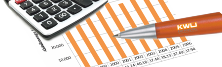 Bilanz mit Kugelschreiber KWU