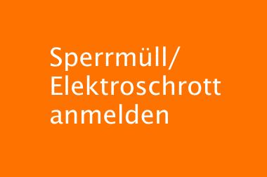 Sperrmüll/Elektroschrott
