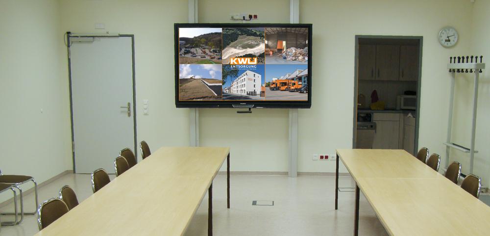 Versammlungsraum für den Werksausschuss KWU-Entsorgung