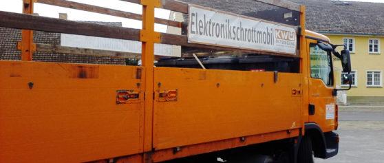 Schadstoff- und Elektronikschrottmobil wieder auf Frühjahrstour