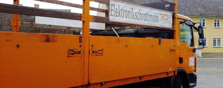 Elektroschrottmobil