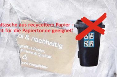 Irreführende Werbung – nicht alles ist recycelbar oder kompostierbar